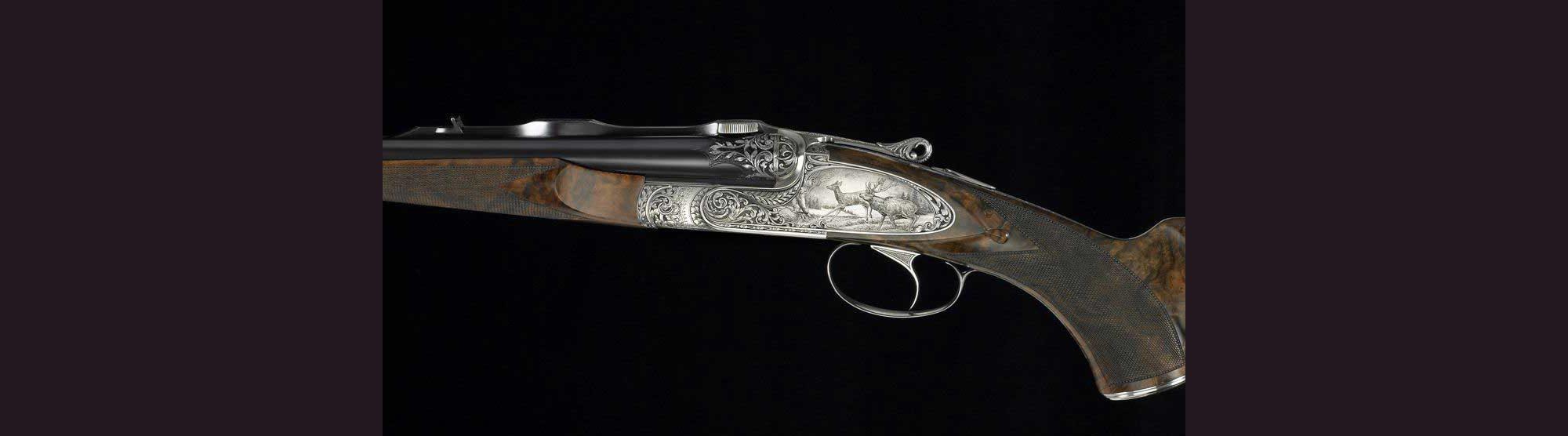 Fusil de chasse Modèle Exception, Armes Pierre Artisan