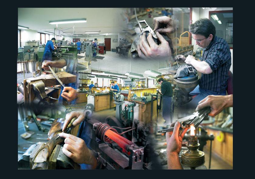 Armes Pierre Artisan, fabrication artisanale de fusils de chasse d'exception