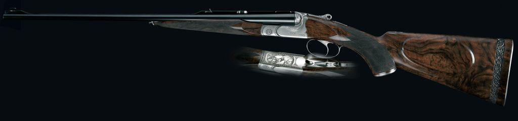 Fusil dFusil de chasse juxtaposé Chambord Armes Pierre Artisanrmes Pierre Artisan